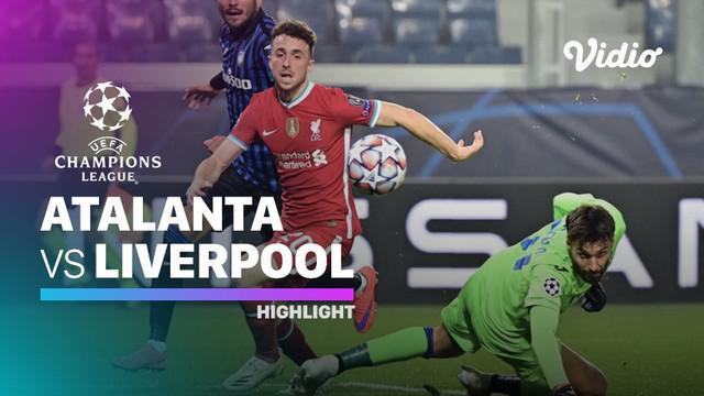 Berita video highlights Liga Champions, Diogo Jota bermain gemilang saat Liverpool Kalahkan Atalanta dengan skor telak 5-0.