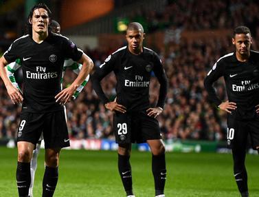 Trio PSG, Neymar, Cavani, Mbappe