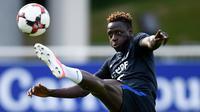 Manchester City membeli Mendy dari AS Monaco seharga 50 juta euro (Rp 764 miliar). Pemain 23 tahun itu dikontrak selama lima tahun. (AFP/ Franck Fife)