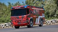 Pemadam kebakaran bertenaga listrik dari Volvo Penta (ist)
