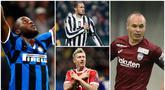 Berikut ini para pesepak bola yang berhasil di dunia akademik dan bergelar Sarjana. Tiga diantaranya adalah Romelu Lukaku, Giorgio Chiellini dan Andres Iniesta. (Foto-foto Kolase AP dan AFP)