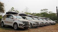 Di sela-sela perjalanan menuju Kabupaten Kutai Timur, peserta akan singgah ke Desa Budaya Pampang, yang berlokasi di Sungai Siring.