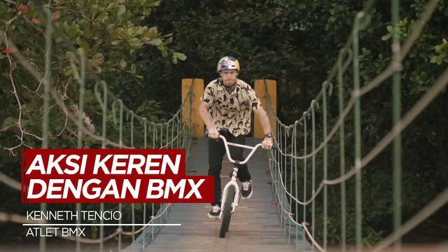 Berita Video Aksi Ciamik Atlet BMX, Kenneth Tencio di Kosta Rika yang Eksotis