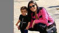 Larrisa Saad, istri pemain Tottenham Hotspur, Lucas Moura (Instagram)
