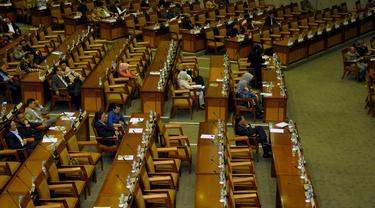 [FOTO] Bangku Kosong, Anggota Dewan Mangkir Rapat