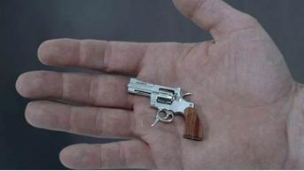 Swiss Mini Gun, Senjata Api Terkecil di Dunia yang Bisa Membunuh Manusia