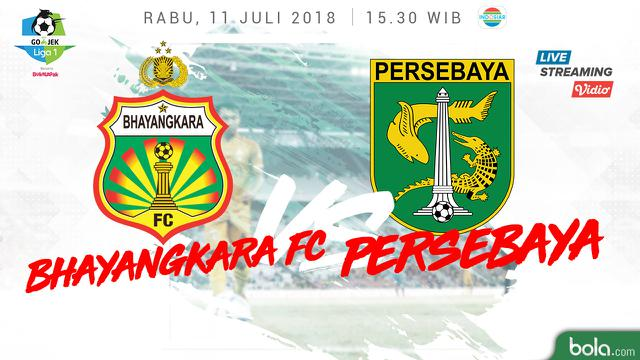 Bhayangkara Fc Vs Persebaya Surabaya