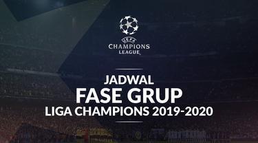 Berita video jadwal fase grup Liga Champions 2019-2020 matchday 1. Barcelona bertandang ke markas Borussia Dortmund, PSG hadapi Real Madrid