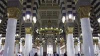 Masjid Nabawi, Madinah, Arab Saudi. (Reuters)
