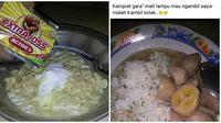 Kreasi Makanan Nyeleneh Ala Netizen Ini Bikin Geleng Geleng (sumber: 1cak.com)