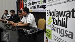 """Suasana konferensi pers terkait acara """"Sholawat dan Tahlil untuk Bangsa"""", Jakarta, Rabu (17/6/2015). Rencana acara tersebut akan digelar pada 23 Juni mendatang. (Liputan6.com/Johan Tallo)"""