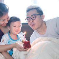 Sebuah kado ulang tahun didapatkan oleh Tya Ariesta dari sang suami. Tya yang tanggal 30 Maret kemarin merayakan ulang tahun ke-32 tahun mendapatkan kado berbeda dari biasanya pasangan. (Instagram/tya_ariestya)