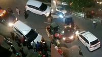Detik-detik petugas bea cukai Riau diserang orang tidak dikenal (Sumber: Twitter/SukuJambax)