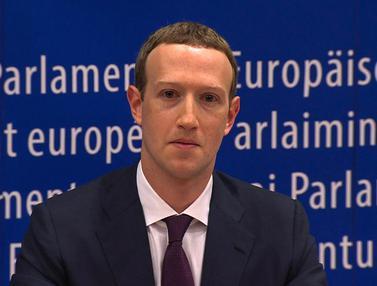 Bos Facebook Mark Zuckerberg Hadapi Sidang Parlemen Eropa