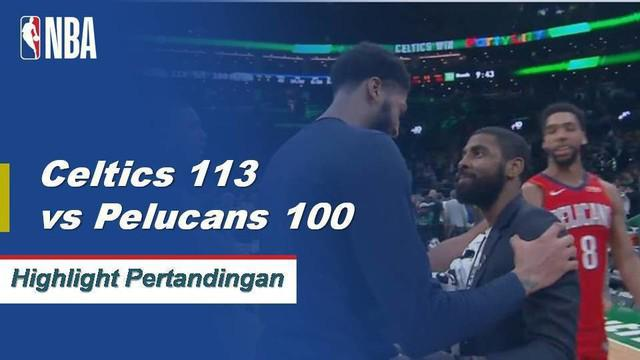 Marcus Morris memimpin jalan bagi Boston dengan mencetak 31 poin dan dishing out empat assist saat Celtics mendapatkan kemenangan atas Pelicans, 113-100.