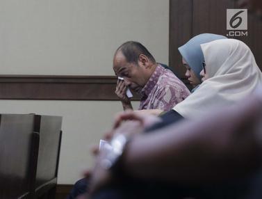 Ekspresi Deputi IV Kemenpora Usai Jalani Sidang Pledoi