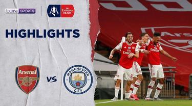 Berita video flashback highlights laga semifinal antara Arsenal melawan Manchester City pada 18 Agustus 2020 jelang Piala FA 2019-2020 nanti malam.