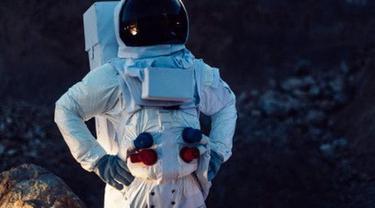 Ilustrasi astronaut.