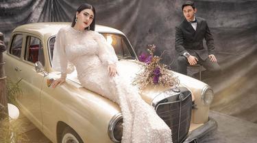 Immanuel Caesar Hito dan Felicya Angelista. (Foto: Fandy Susanto, dari Instagram @felicyangelista_)