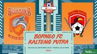 Shopee Liga 1 - Borneo FC Vs Kalteng Putra (Bola.com/Adreanus Titus)