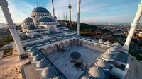 Masjid Camlica di Turki (AFP PHOTO)