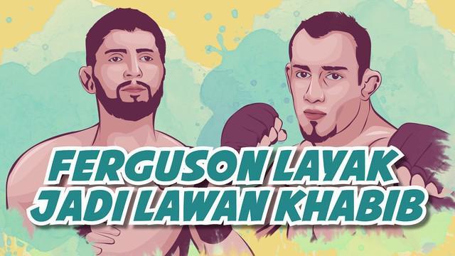 Duel Khabib Nurmagomedov di arena UFC jadi topik yang dinanti. Sementara Tony Ferguson merupakan lawan kuat berikutnya.