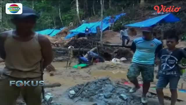 Warga Sulawesi Tenggara heboh temukan lokasi yang diduga tambang emas.