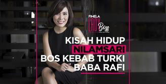 LADY BOSS: Jatuh Bangun Nilamsari Membesarkan Kebab Turki Baba Rafi, KDRT hingga Nyaris Bunuh Diri
