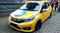 Honda Brio hasil modifikasikasi menjadi hadiah Indonesia Modification Expo (IMX) 2019 (Dian/Liputan6.com)
