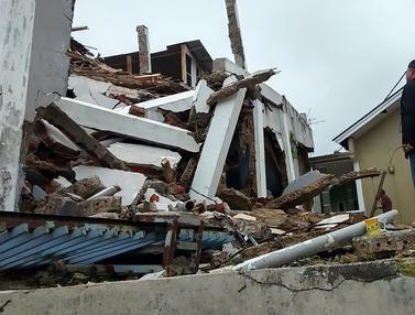 Penampakan Kerusakan Akibat Gempa Sukabumi