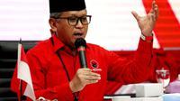 Sekretaris Jenderal DPP PDI Perjuangan (PDIP) Hasto Kristiyanto Saat Membuka Sekolah Cakada PDIP Gelombang III. (Foto: Dokumentasi PDIP)