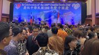 Resepsi Perayaan Hari Jadi Taiwan ke-108 di Hotel Borobudur.(Liputan6.com/Benedikta Miranti)