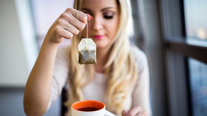 Ilustrasi kantung teh (iStockphoto)