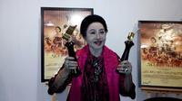 Mooryati Soedibyo, produser film Sultan Agung. (foto: istimewa/Henry)