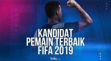 Berita video 10 kandidat pemain terbaik FIFA 2019.