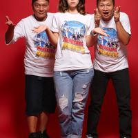 Media visit pemain film Hongkong Kasarung (Bambang E. Ros/bintang.com)