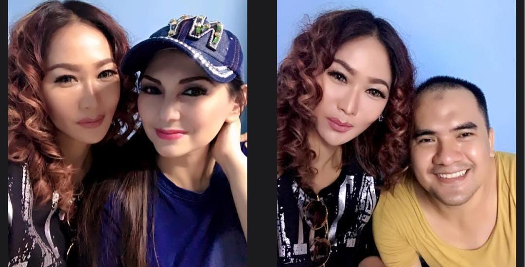 Inul Daratista dan Nia Daniaty jenguk Saipul Jamil di LP Cipinang.
