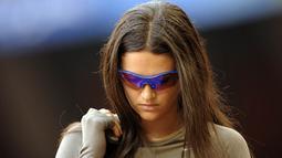 Rekor pribadi lemparan Leryn Franco sekaligus menjadi rekor bagi negaranya Paraguay. (AFP/Olivier Morin)