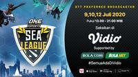 Jadwal ONE ESports Dota 2 SEA League pekan keempat. (Sumber: Vidio)