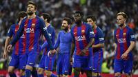 2. Barcelona (La Liga) - 2,82 Miliar Poundsterling. (AFP/Gerard Julien)