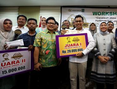 Muhaimin Iskandar Beri Penghargaan Kepada Pemenang Festival Film PKB