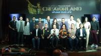 Jumpa pers Panasonic Gobel Awards 2019 di Hard Rock Cafe, Jakarta, Kamis (17/10/2019)