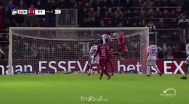 Standard Liege harus kehilangan Edmilson Junior yang dikartu merah kemudian kebobolan gol telat yang membuat Zulte-Waregem menang ...