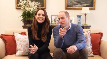 Bikin Channel YouTube, Ada Cuplikan Lucu Kate Middleton dan Pangeran William