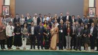 Wakil Ketua MPR Lestari Moerdijat terima delegasi SocDem Networking Asia. (Istimewa)