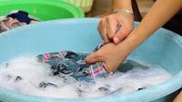 Re Clean merupakan mesin cuci terkecil dengan desain menarik yang dibandrol dengan harga Rp 800 Ribu-an.