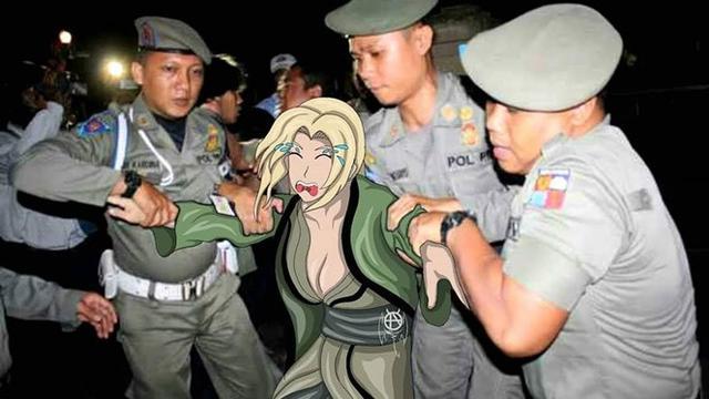 6 Editan Karakter Anime Dalam Dunia Nyata Ini Bikin Ngakak