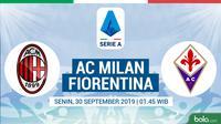 Serie A - AC Milan Vs Fiorentina (Bola.com/Adreanus Titus)