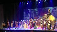 Pementasan Mahabarata: Asmara Raja Dewa oleh Teater Koma. (Liputan6.com/Putu Elmira)