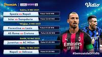Streaming Serie A Pekan Ke-35 di Vidio. (Sumber : dok. vidio.com)
